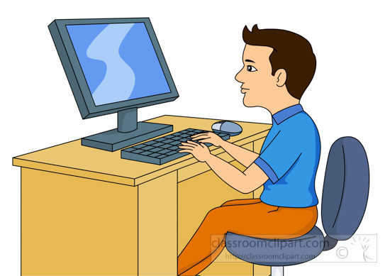 Technology clipart computer student Clipart In Search student