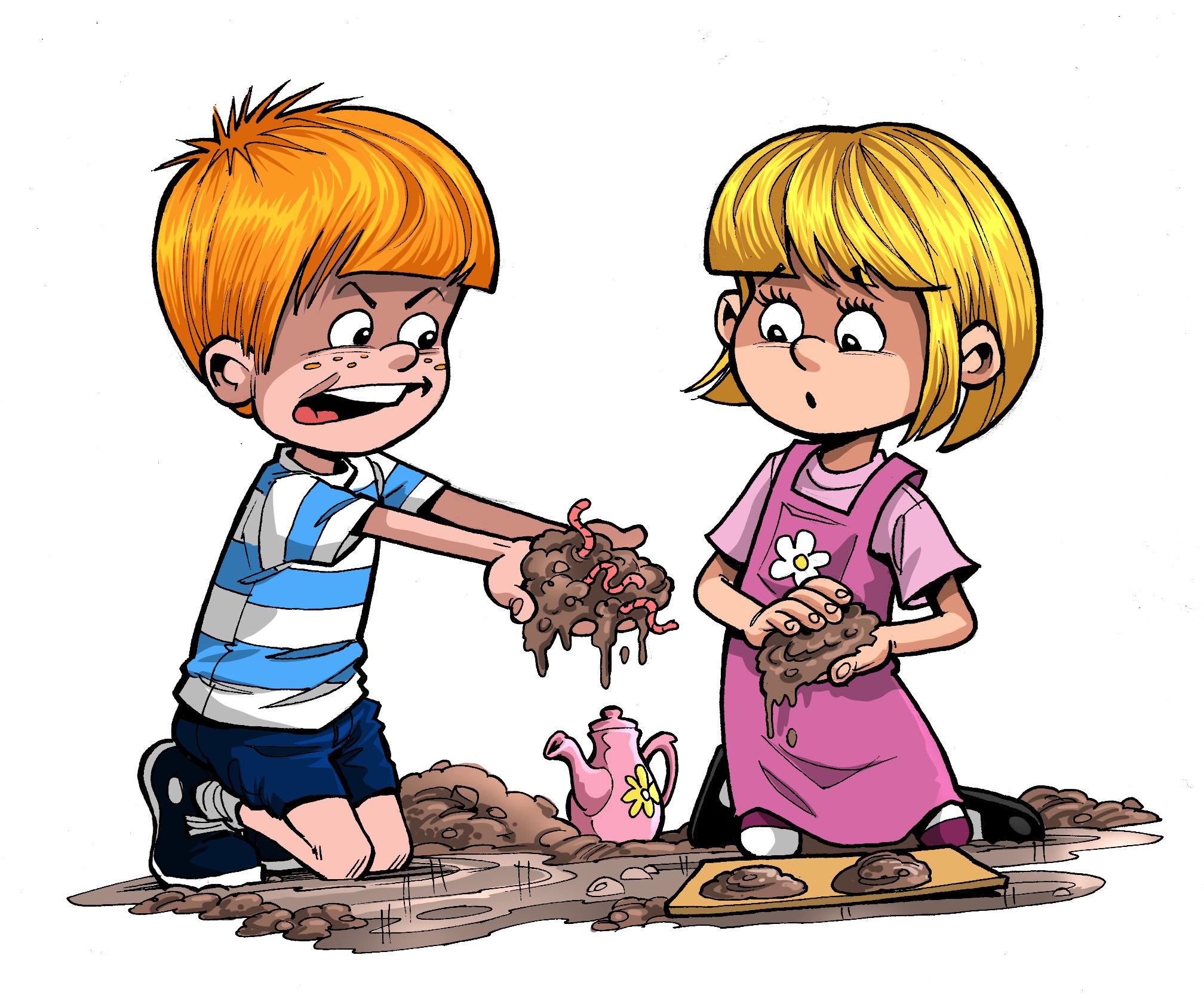 Mud clipart animated #8