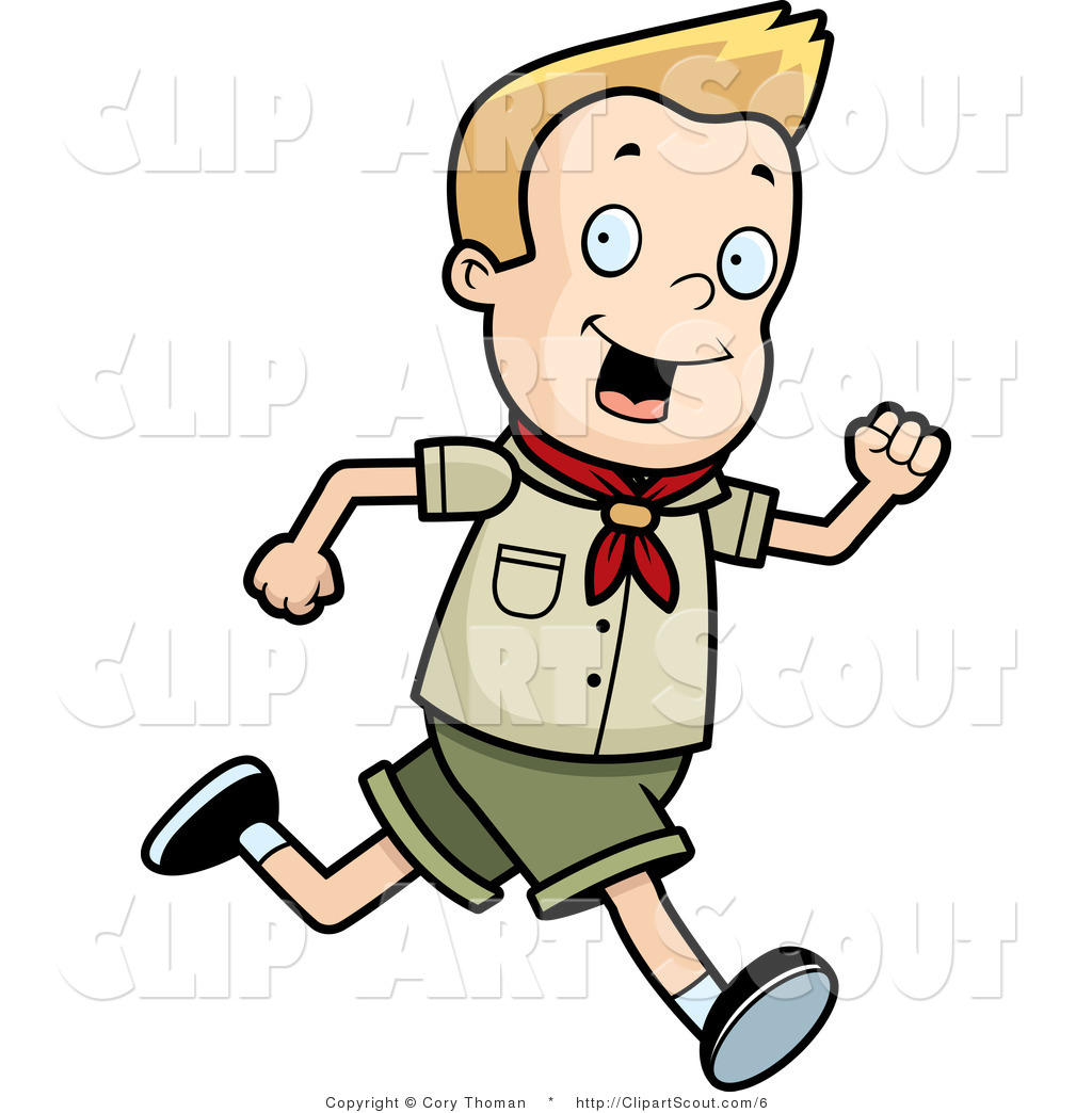 Little Boy clipart run Designs Scout Boy Little Boy