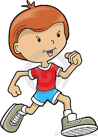 Little Boy clipart run Running Collection Page  page