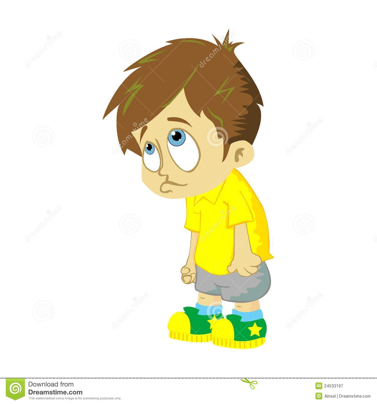 Boy clipart disappointed Sad Sad Child Face kid
