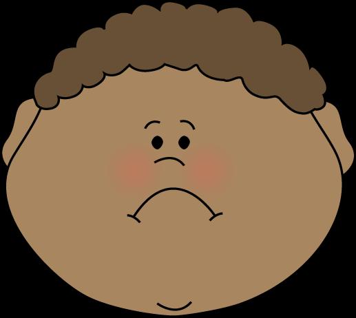 Anger clipart frown Face Face Little Boy Face