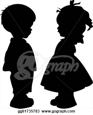 Boy clipart silhouette Little little Search Search boy
