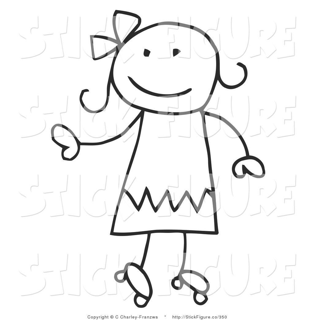 Little Boy clipart stick figure  Figure Free Stick Panda