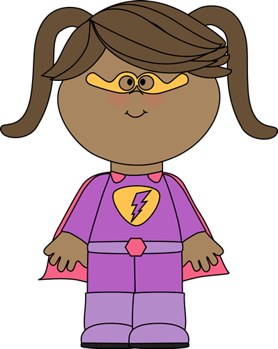 Woman clipart kid Superhero Superhero Art Kids Superhero