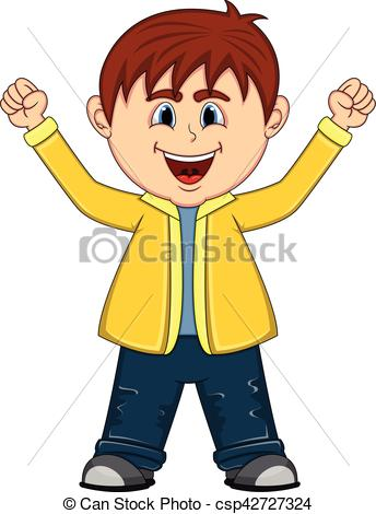 Little Boy clipart two boy Hands of up up boy
