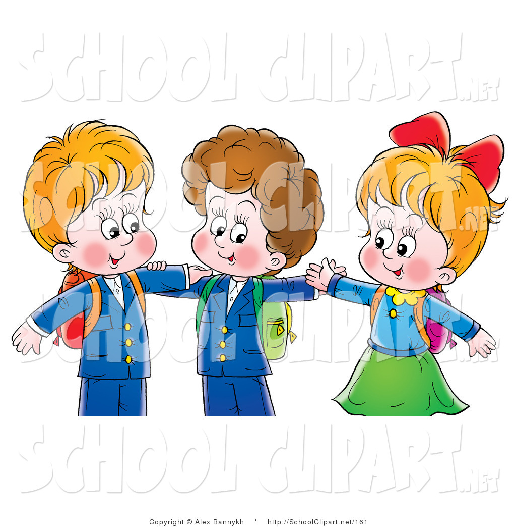Little Boy clipart two boy Hugging Stock Royalty and Free