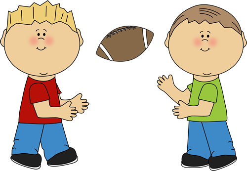 Little Boy clipart two boy Boy a throwing collections Clipart