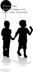 Little Boy clipart two boy Illustration Hands of Children Two