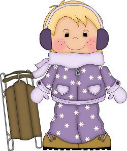 Winter clipart little boy Clip CLIP LITTLE BOY