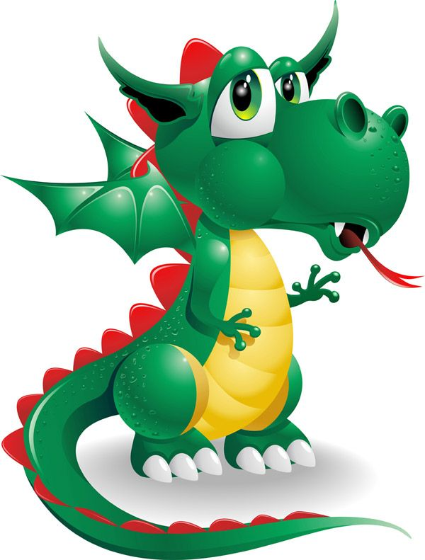 Little Dragon clipart dragon castle Best Find on ClipArt Dragon