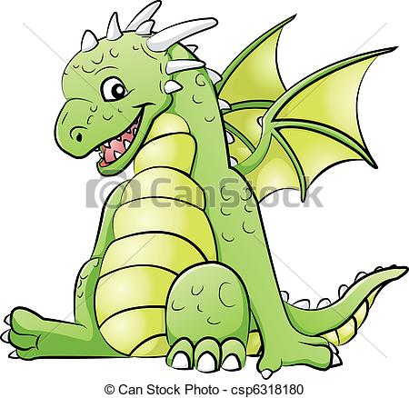 Little Dragon clipart princess dragon Vector dragon  clipart Images