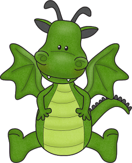 Little Dragon clipart And Ideas Baby Puff Magic