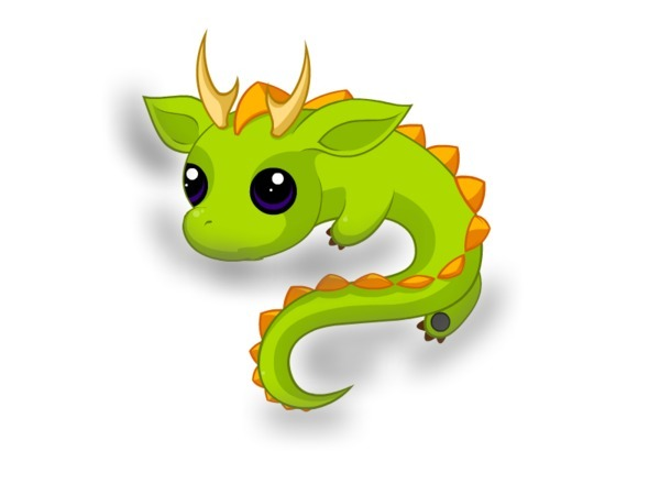 Little Dragon clipart Dragon dragon belletrix Cute dragon