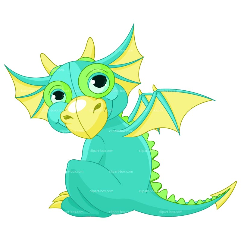 Randome clipart baby dragon #2