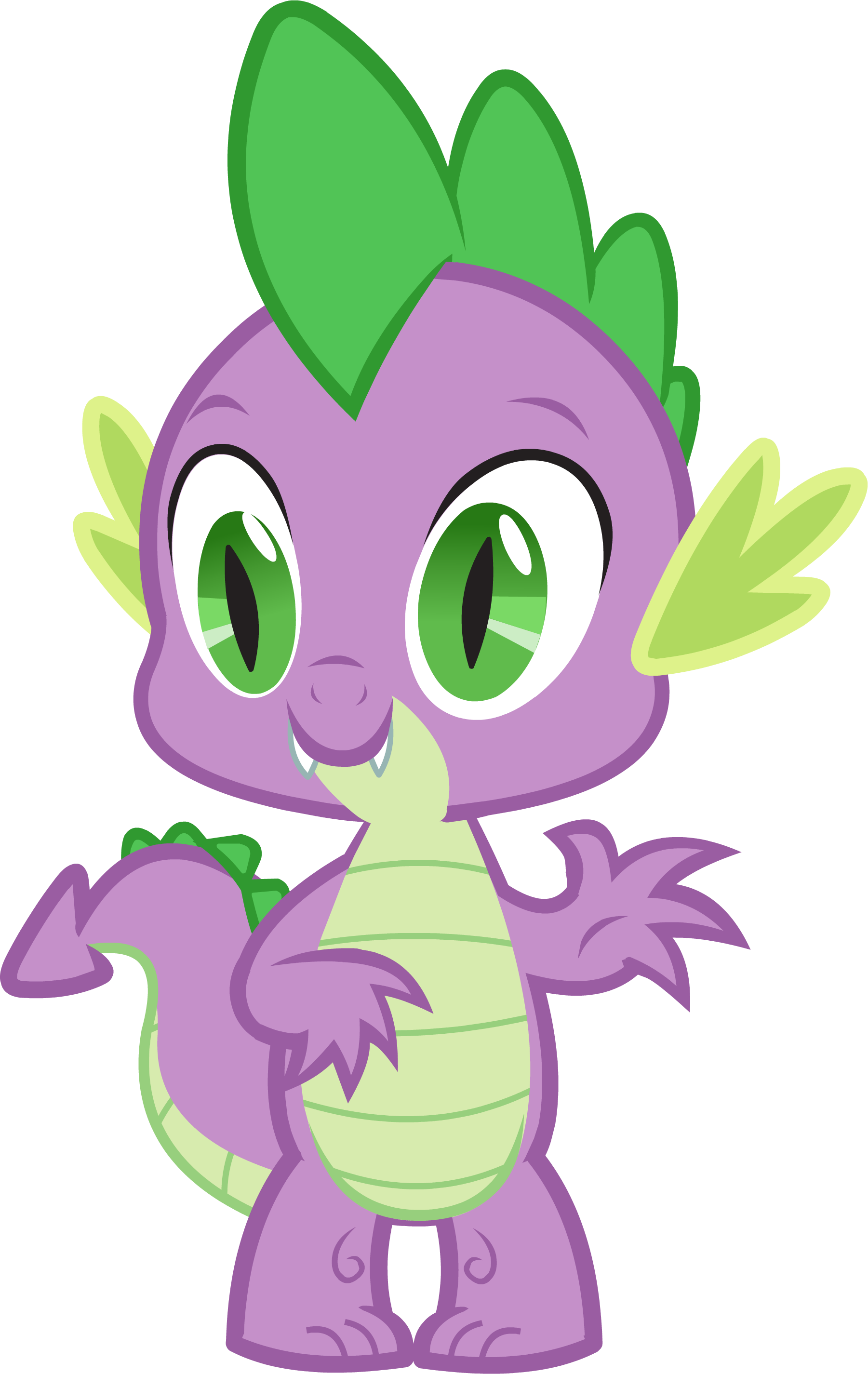 Little Dragon clipart dragon castle The Canterlot my pony