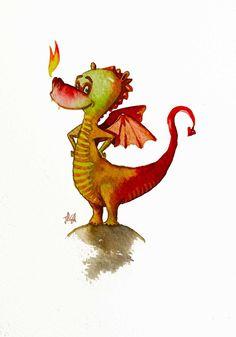 Little Dragon clipart green dragon Dragoncito Sant CLIPART/SVG Dragon Pinterest