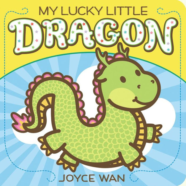Little Dragon clipart green dragon Little Board My Book by