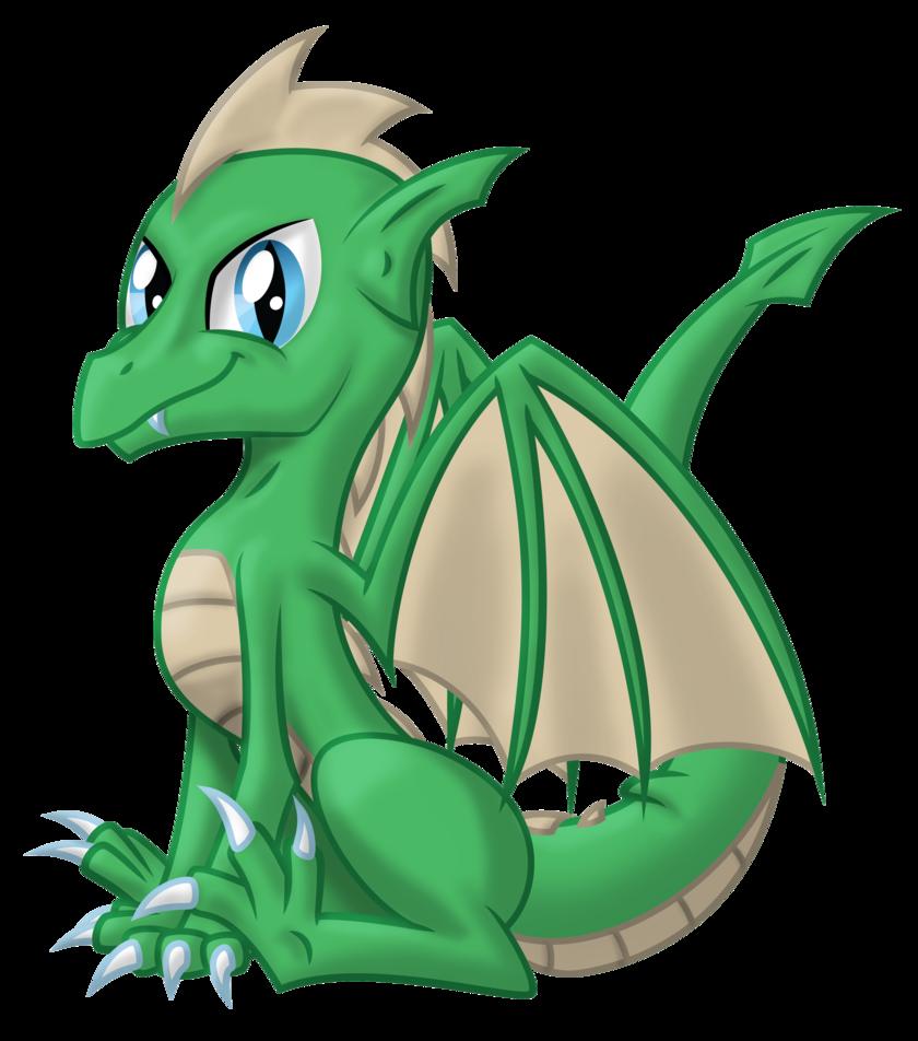 Little Dragon clipart green dragon JustABlankFlank on Dragon DeviantArt Dragon