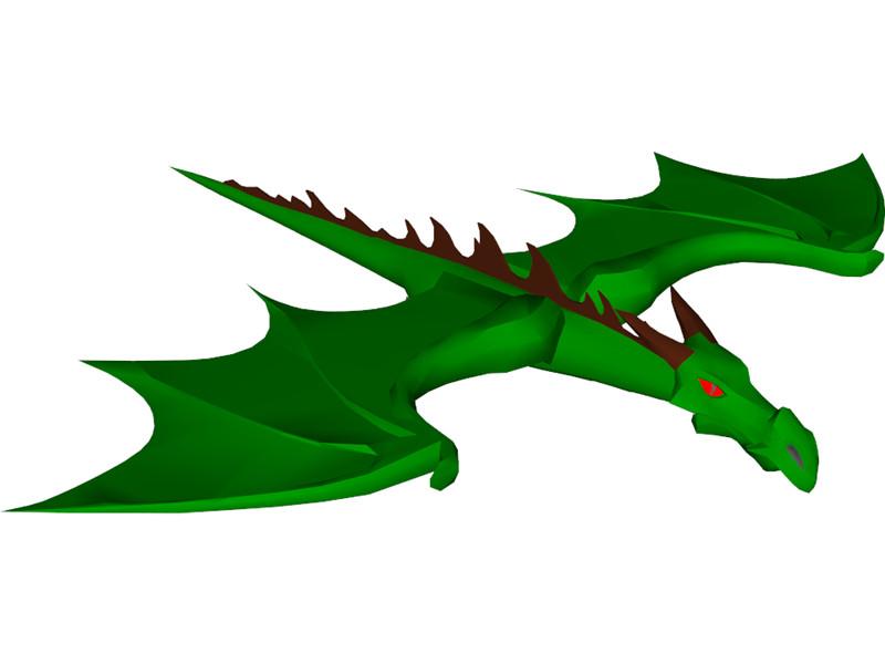 Little Dragon clipart green dragon 3D Browser Free Green Clip