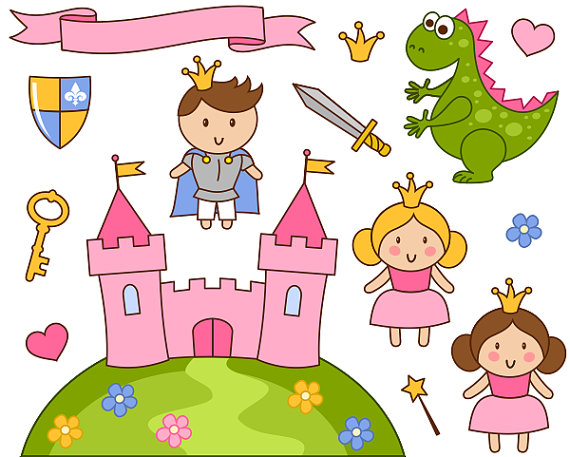Little Dragon clipart princess dragon Clip Little Little And YDC129