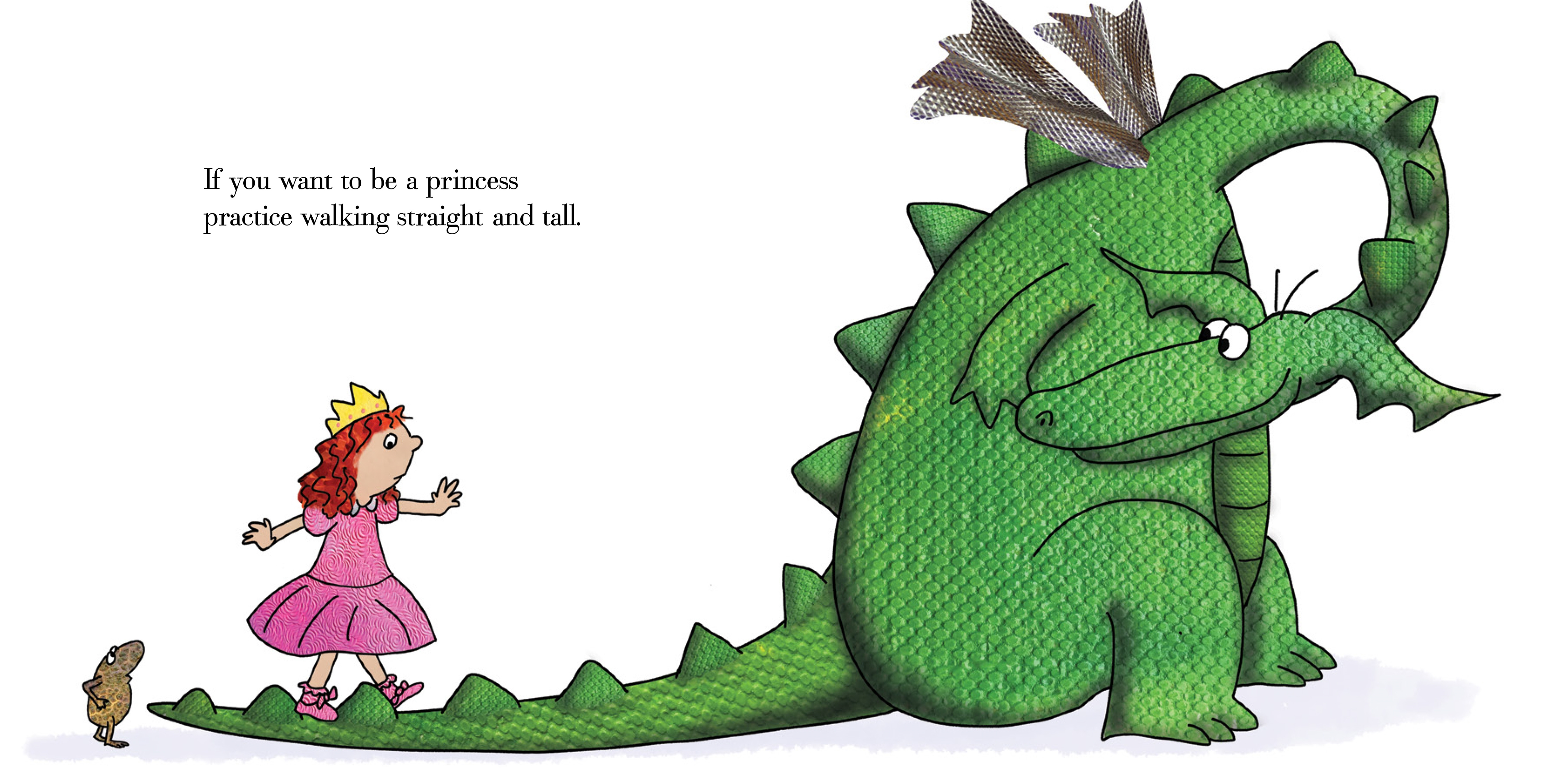 Little Dragon clipart princess dragon Be is little a you