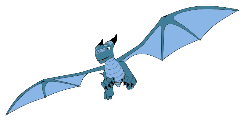 Blue Dragon clipart Public your or to can