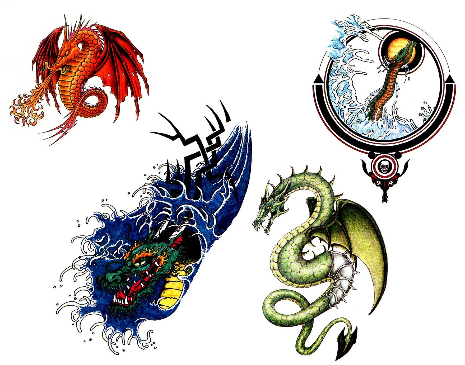 Little Dragon clipart small Dragon  on Tattoo Dragon