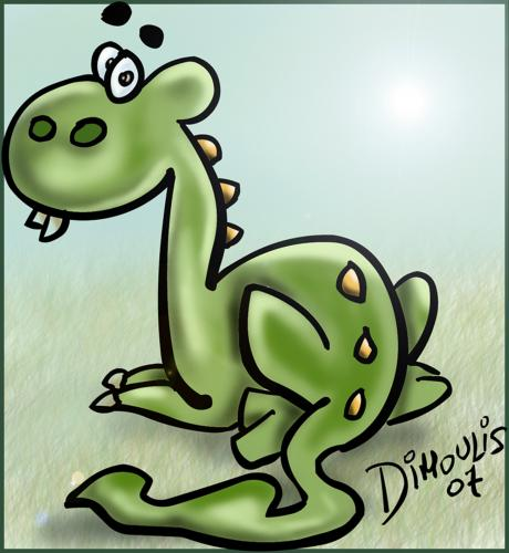 Little Dragon clipart small Tagged (medium) TOONPOOL Cartoon little