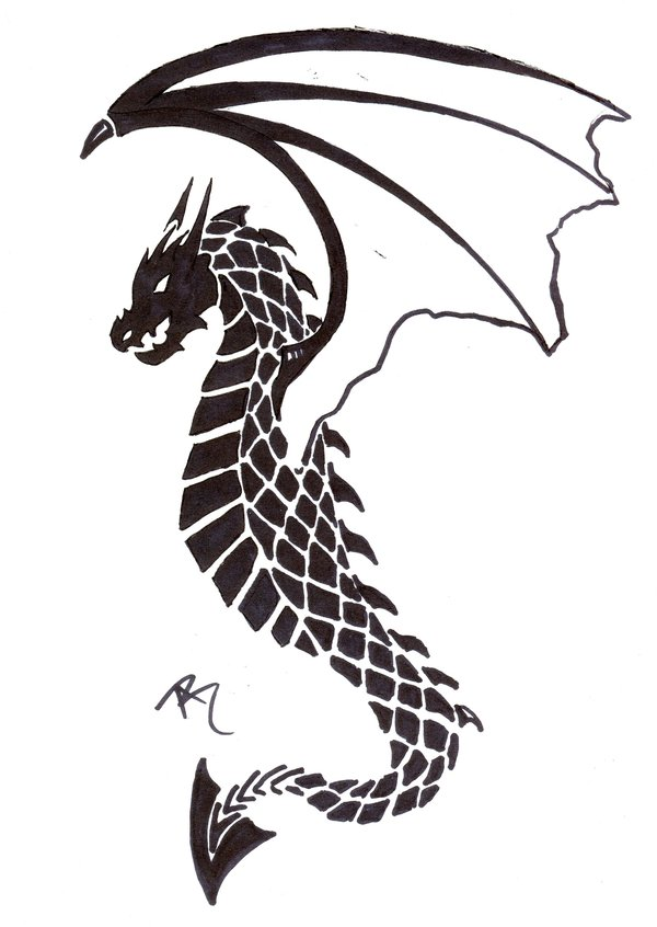 Little Dragon clipart small Tattoo FASHION: Clip Free ART