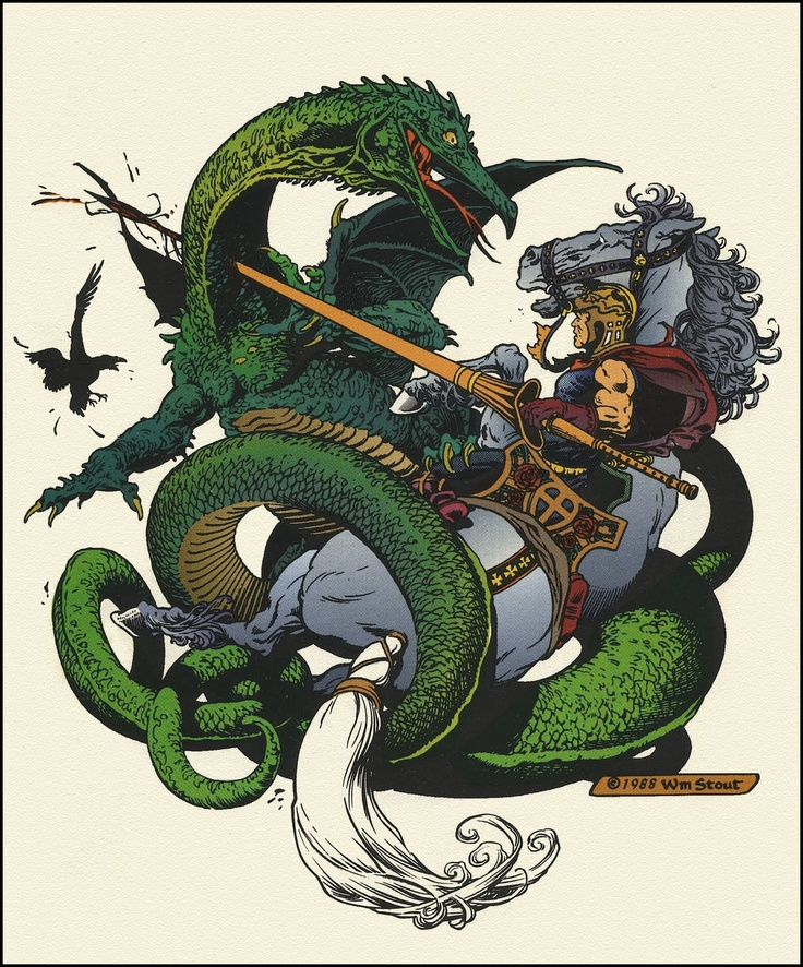 Little Dragon clipart st george Images Stout The and best