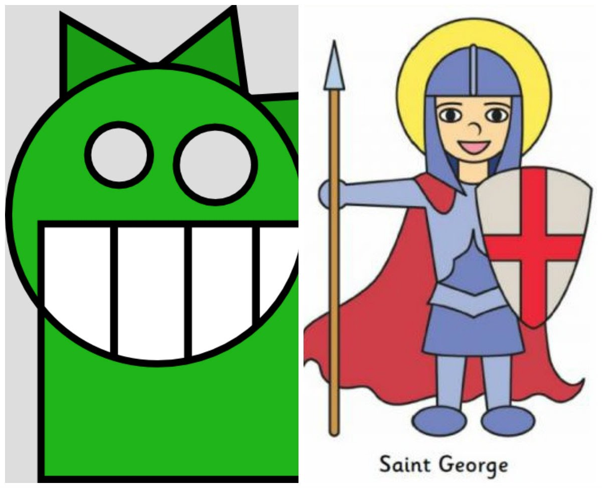 Little Dragon clipart st george (with George  Sing Dragon