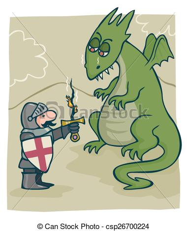 Little Dragon clipart st george A St  dragon the