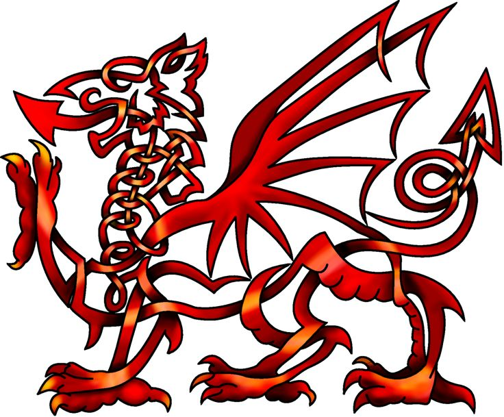 Chinese Dragon clipart irish On Knot Welsh Pinterest by