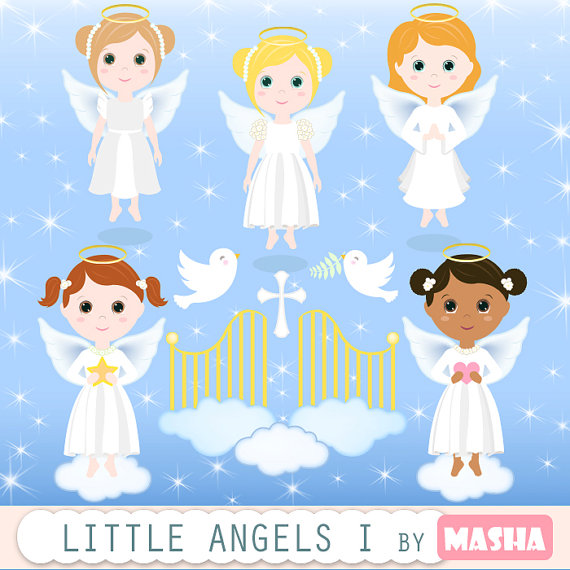 Cards clipart angel CLIPART with angel girl item?