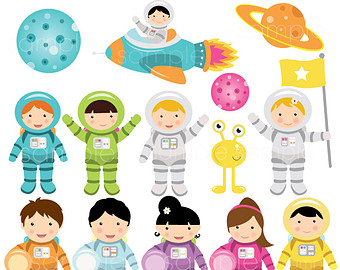 Astronaut clipart little Cliparts Zone – Cliparts Etsy
