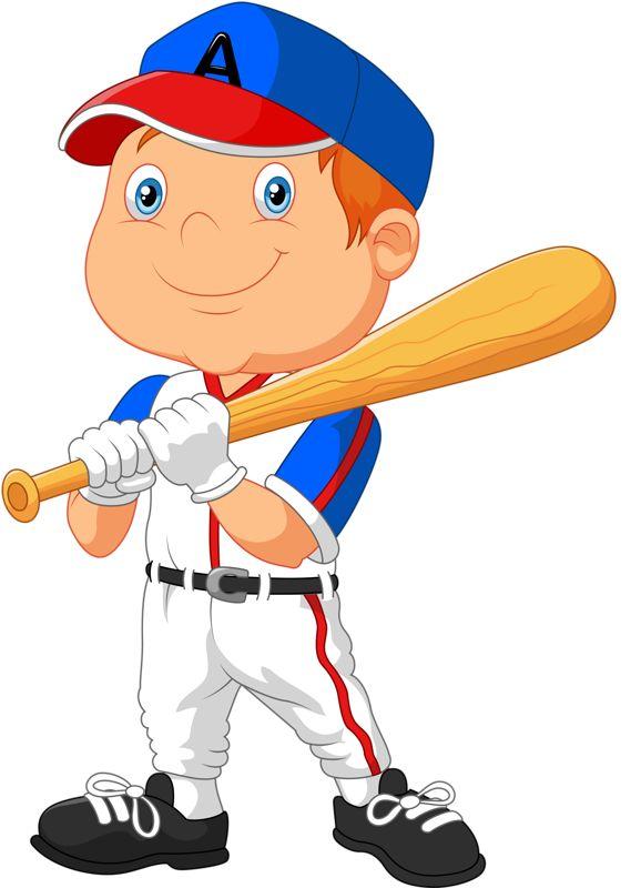 Boy clipart baseball player Clipart 70 images Фотки Cute