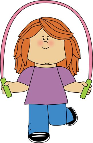 Boy clipart jumping rope Clipart 70 Rope images Girl