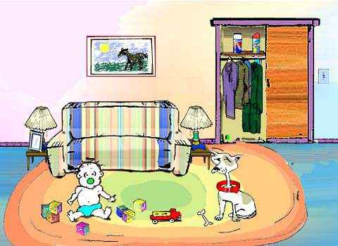 Living Room clipart art room To Room Dangerous Chemicals Guide