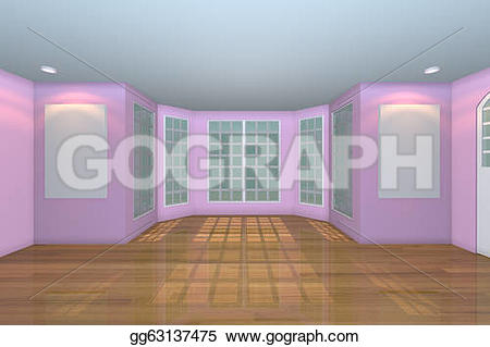 Living Room clipart blank  Clip Clip with and