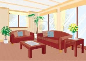 Living Room clipart cartoon Cartoon Living Living Living room