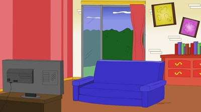 Living Room clipart cartoon Room Free  Background Free