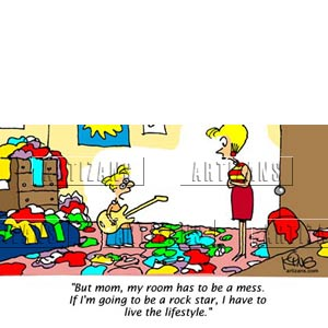 Room clipart mess #13