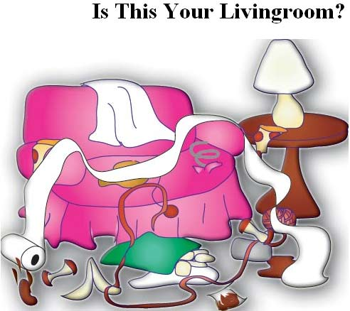 Living Room clipart comic Our more Livingroom is wouldn't