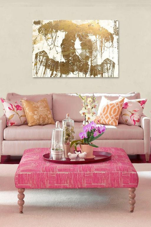 Living Room clipart cushion Couch Furniture Furniture:Wonderful Room Pink