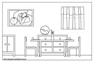 Living Room clipart dinning room Imgs Carameloffers colouring room clip