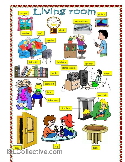 Room clipart esl #10