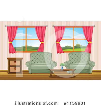 Living Room clipart illustration Room Royalty Clipart colematt colematt