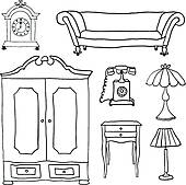 Living Room clipart living thing Living icons Free Clip GoGraph