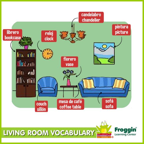 Living Room clipart living thing Spanish! vocabulary co/k5U2fOnOw4